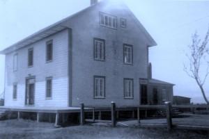 Orphelinat Saint-Martin, Rivière-Ouelle, en 1952
