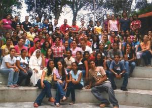 15_Groupe de jeunes à Moncion
