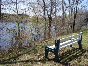 1_Banc près du lac