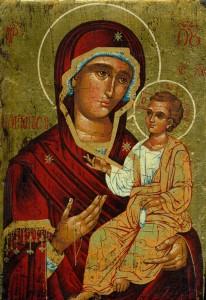 5_Marie avec Jésus_vieille icône