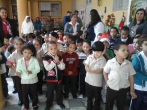 Enseignantes et élèves