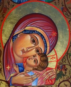 9_Visages de Marie penchée à droite sur Jésus